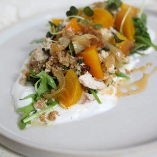 Baby Arugula Salad and Grain Salad_hero